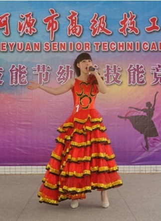 第六届技能节系列报道之二:幼师专业声乐技能竞赛